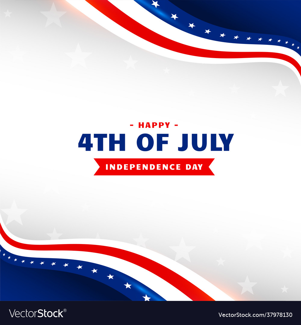 4th july happy independence day holiday
