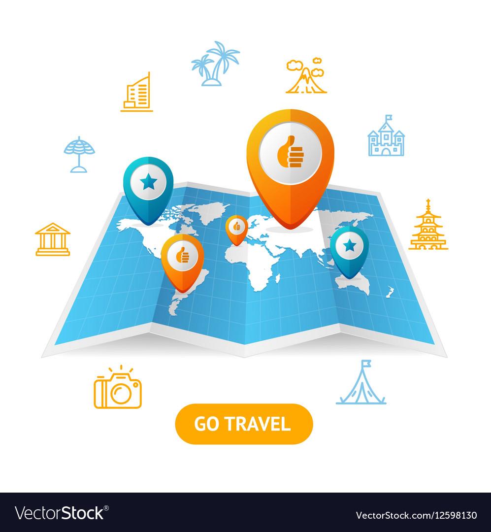Go Travel Booking Concept
