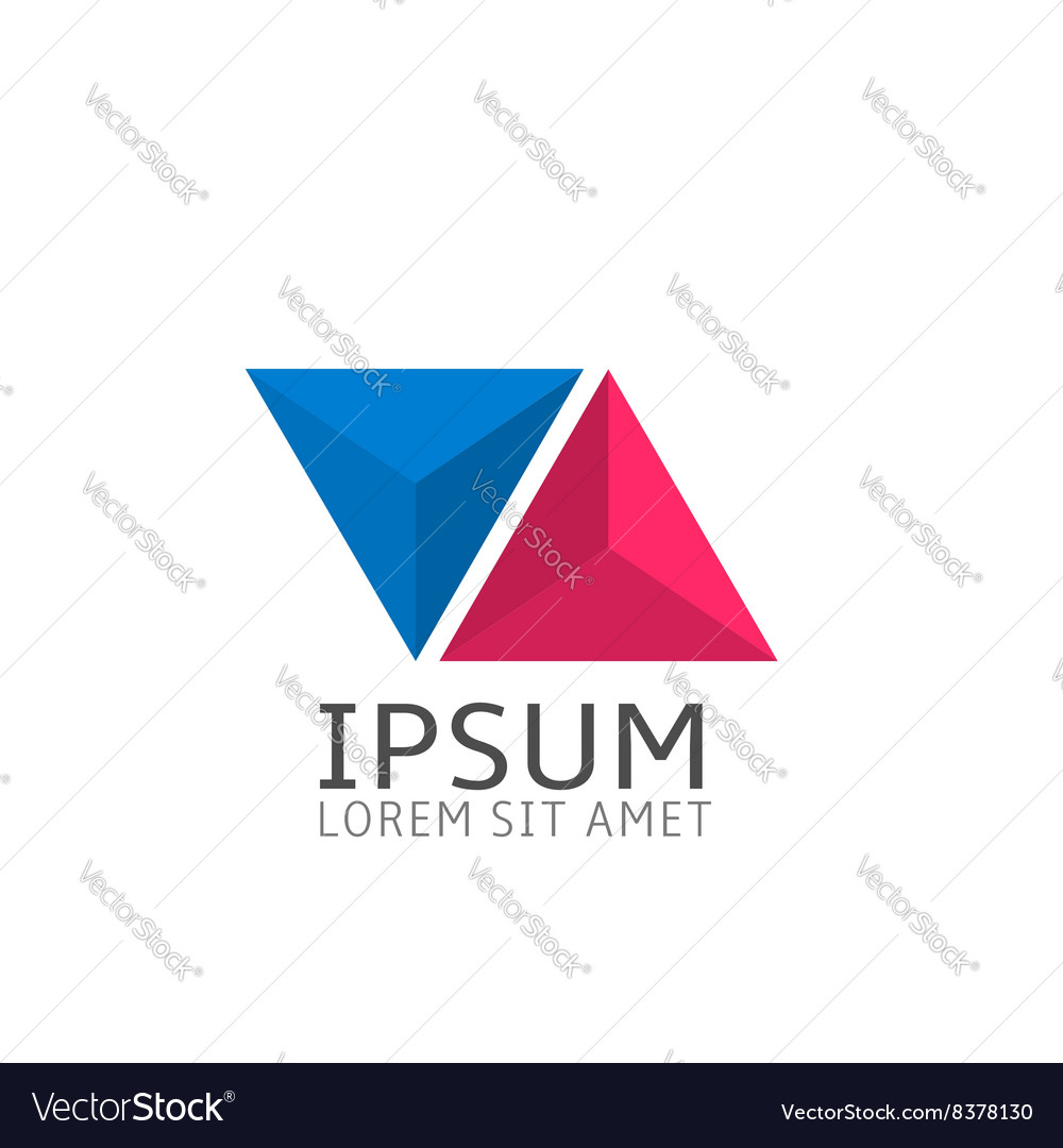 Logo template icon vector image