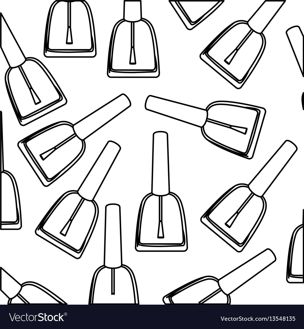 Figure nails polish background icon