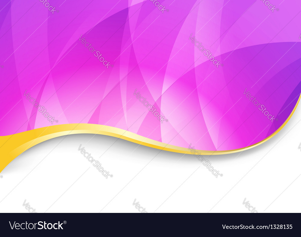 Purple Flare Abstract Wavy Background