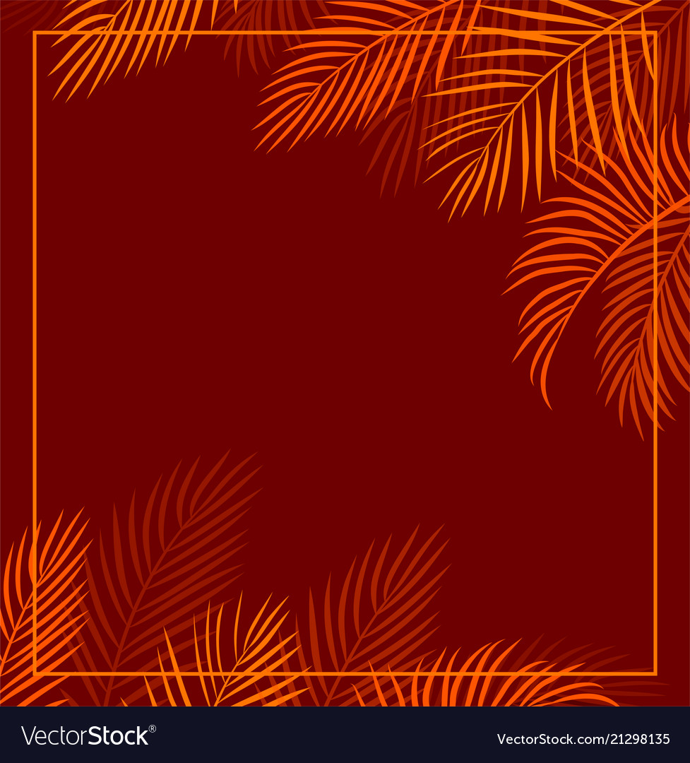 Red tropical background