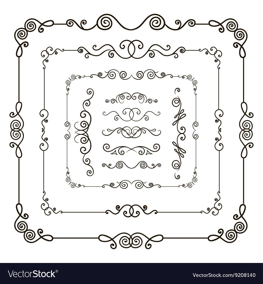 Doodle frame borders