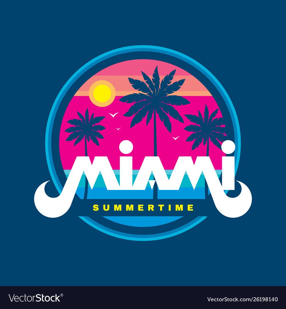 Florida miami summertime