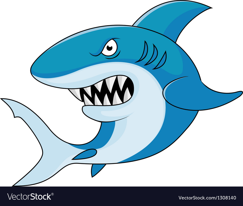 shark images cartoon  Shark cartoon Royalty Free Vector Image - VectorStock