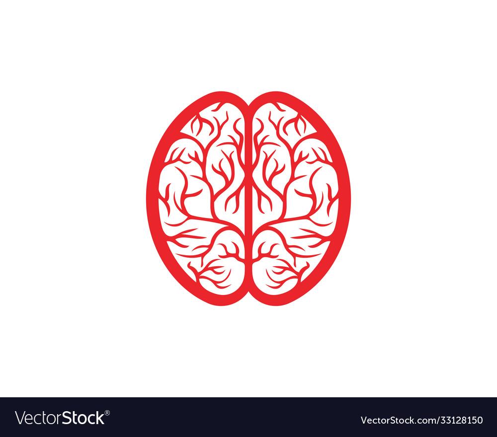 Health brain icon