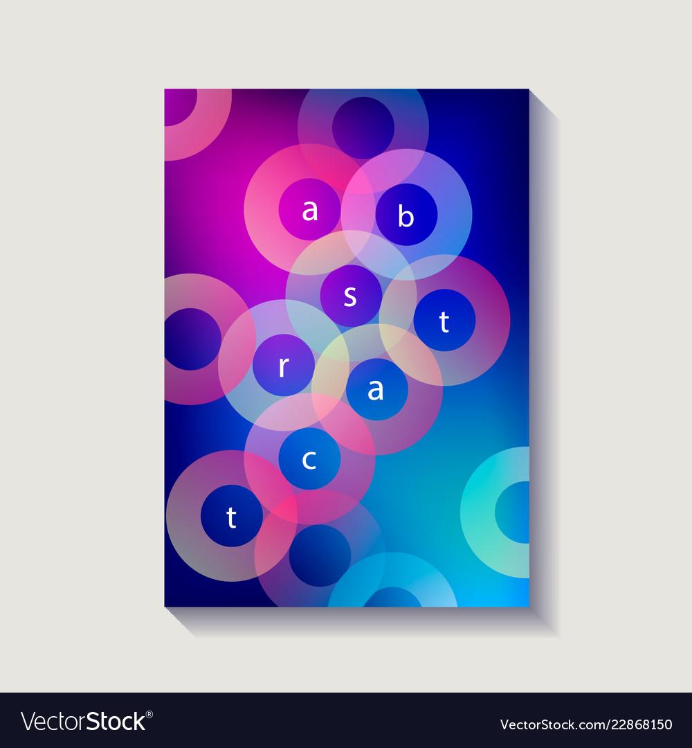 Minimalistic design cover poster