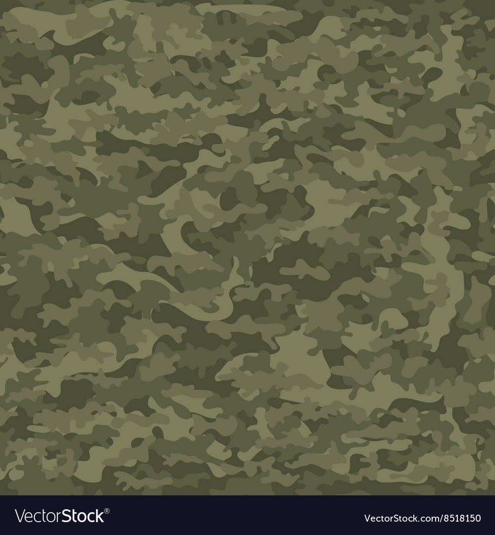 Seamless camouflage military cloth of infantry