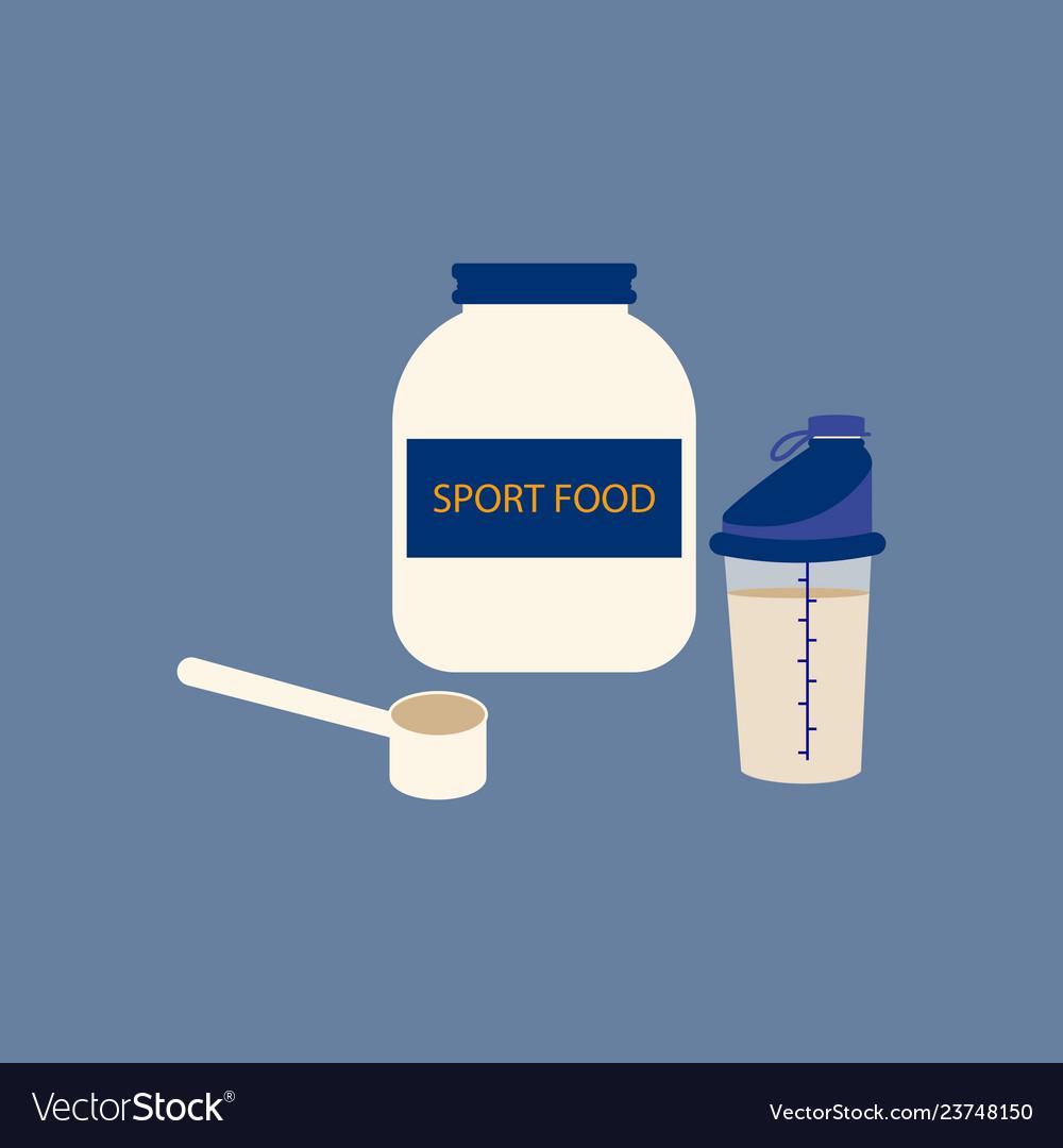 Sport food blender bottle fitness equipment