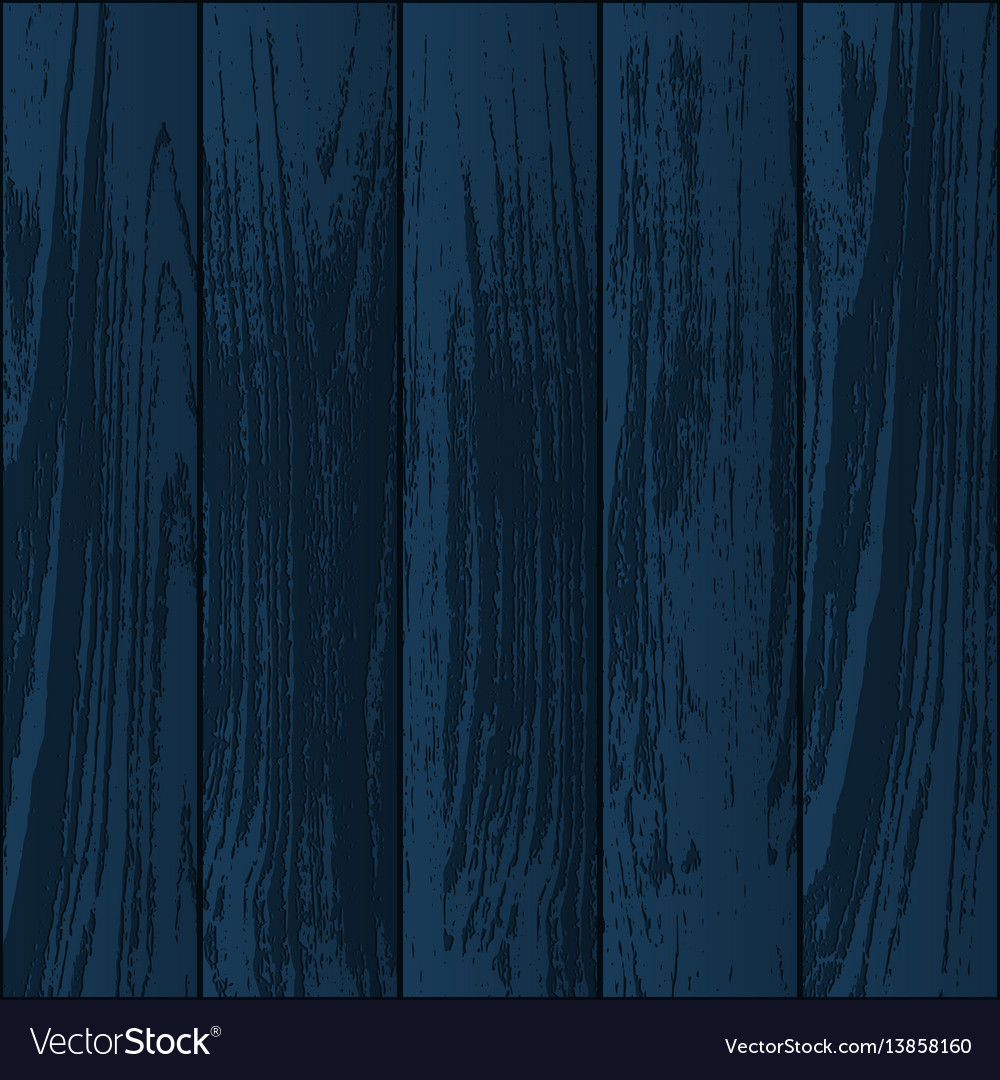 Dark Blue Wooden Textures Royalty Free Vector Image