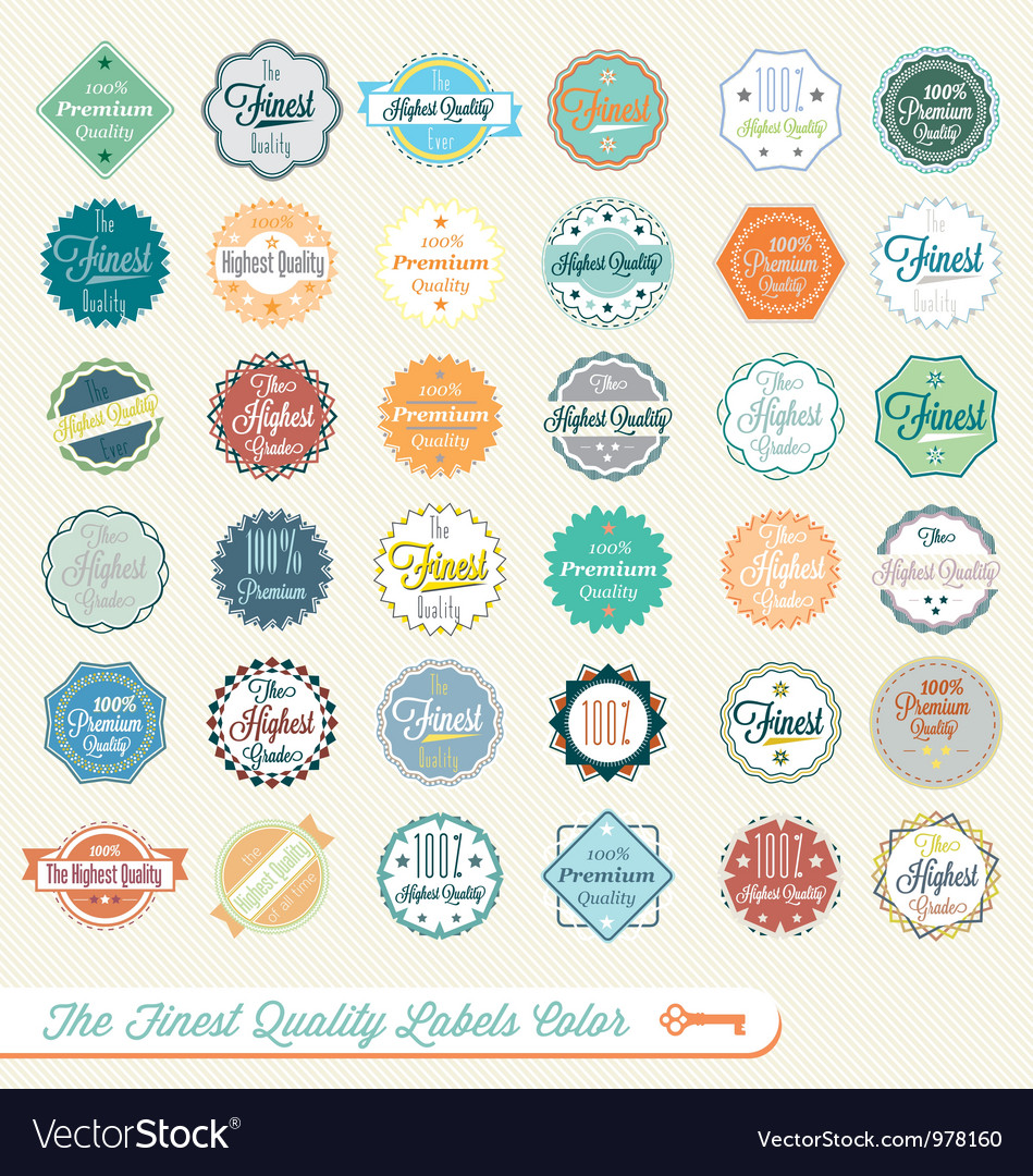Finest Quality Labels Color