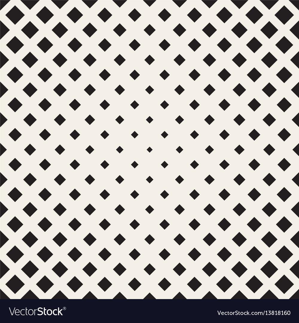 Halftone seamless geometric pattern