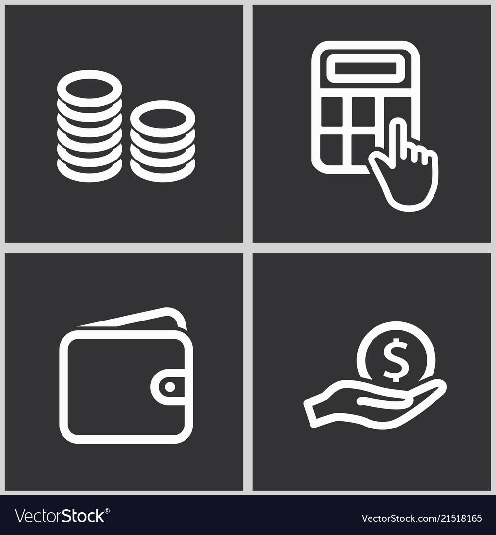 Investments money icon