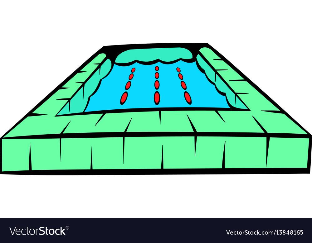 Swimming pool icon icon cartoon