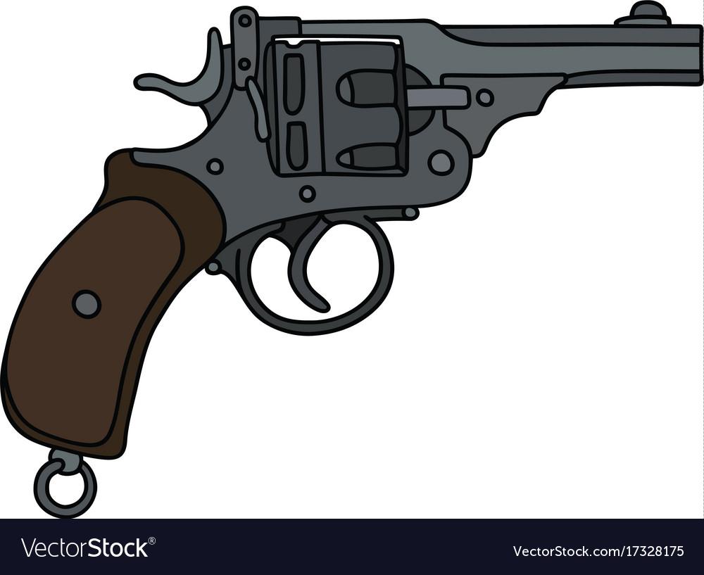 Old short revolver