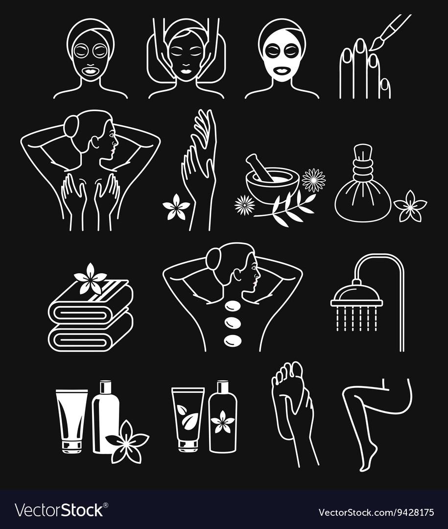 Spa Massage Therapy Skin Care Cosmetics Services