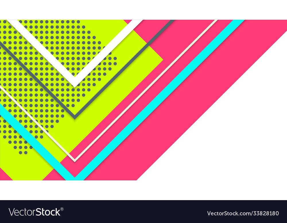 Abstract minimal geometric background