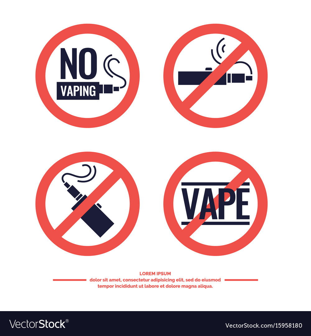 Drawing and poster of electronic cigarette