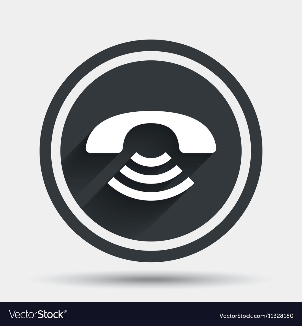 Phone sign icon Support symbol