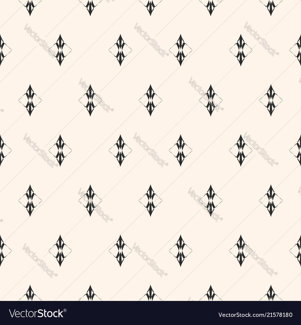 Subtle minimalist seamless pattern luxury vintage