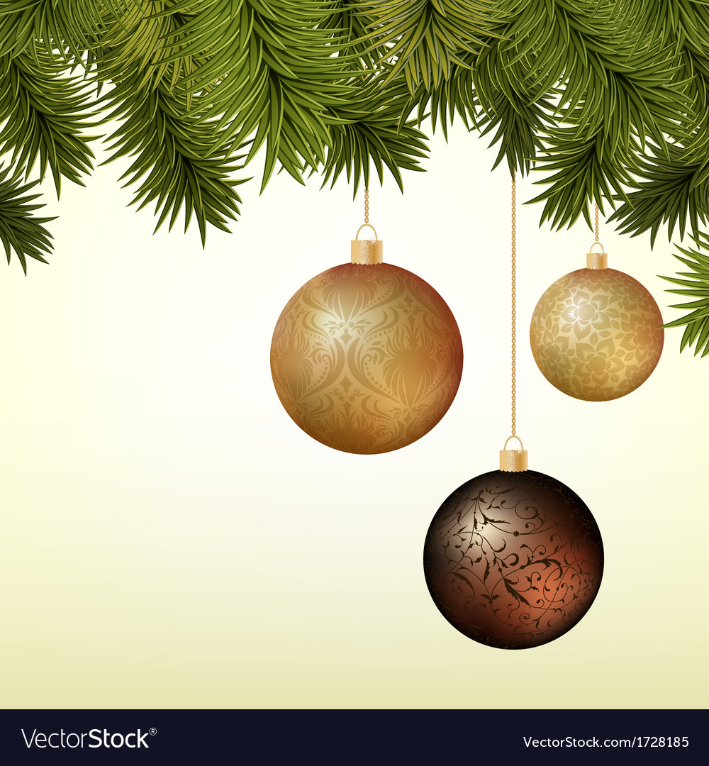 Abstract Christmas background with golden and