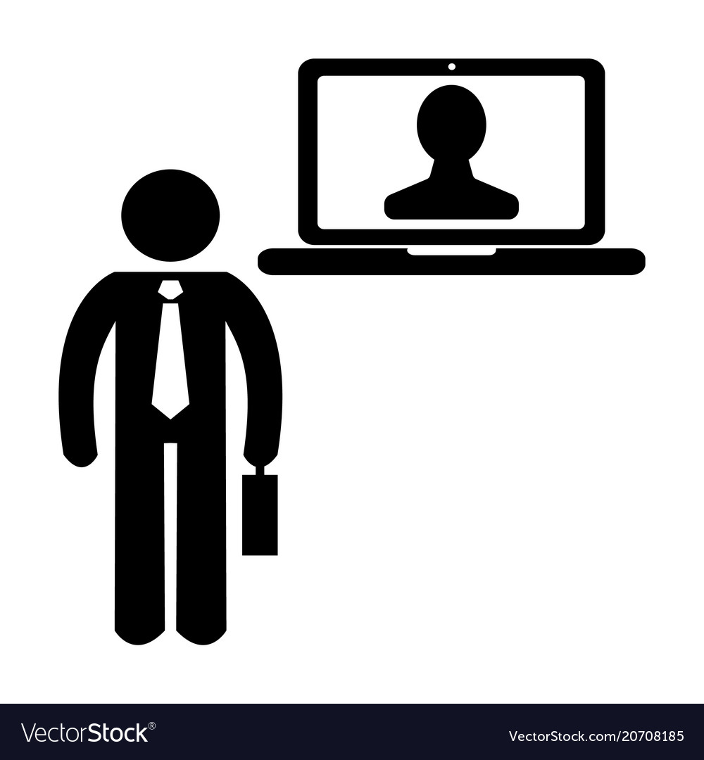 Boss and employee icon 96x96 pictogram