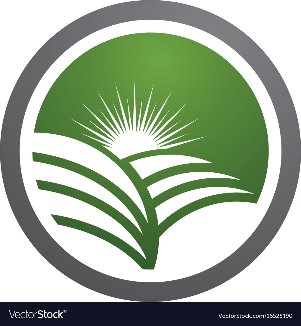 Logos of green leaf ecology nature element icon