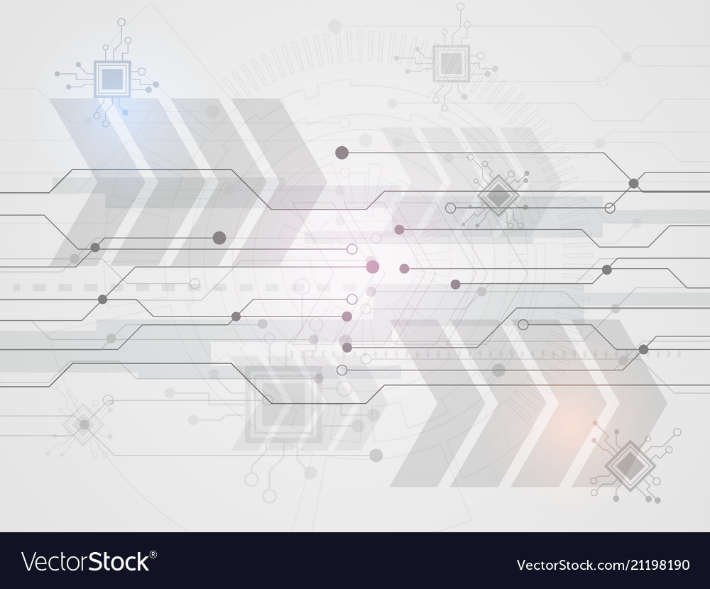Technological and science background with lines