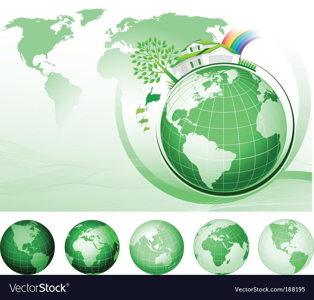 Global conservation concept