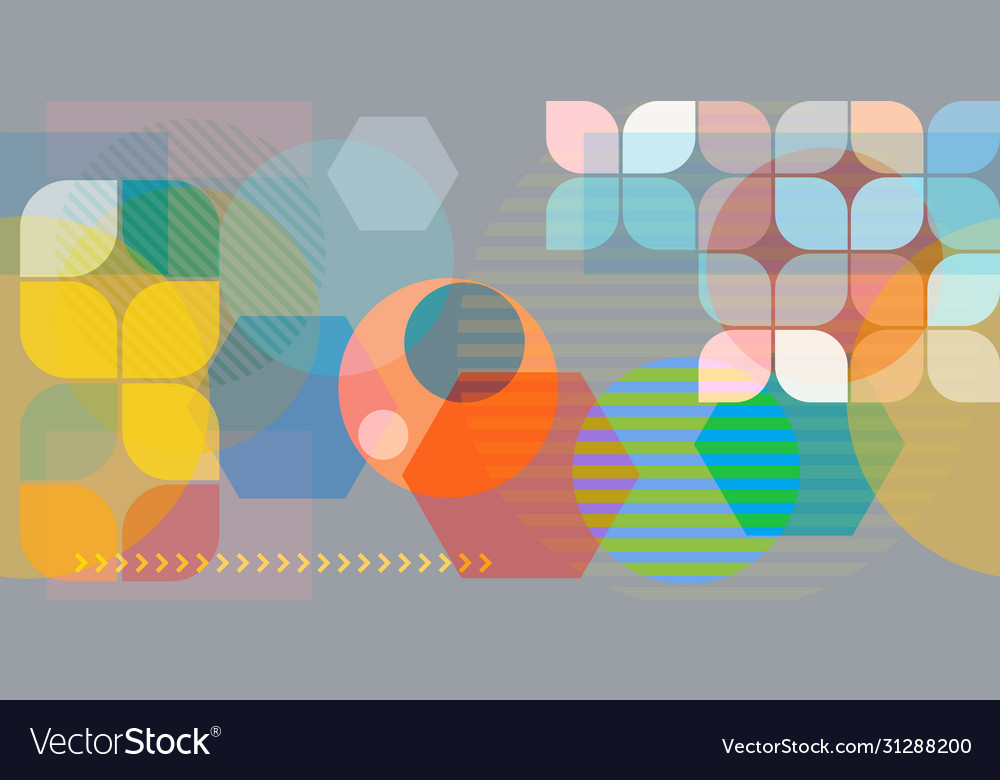 Abstract seamless background pastel and vibrant vector
