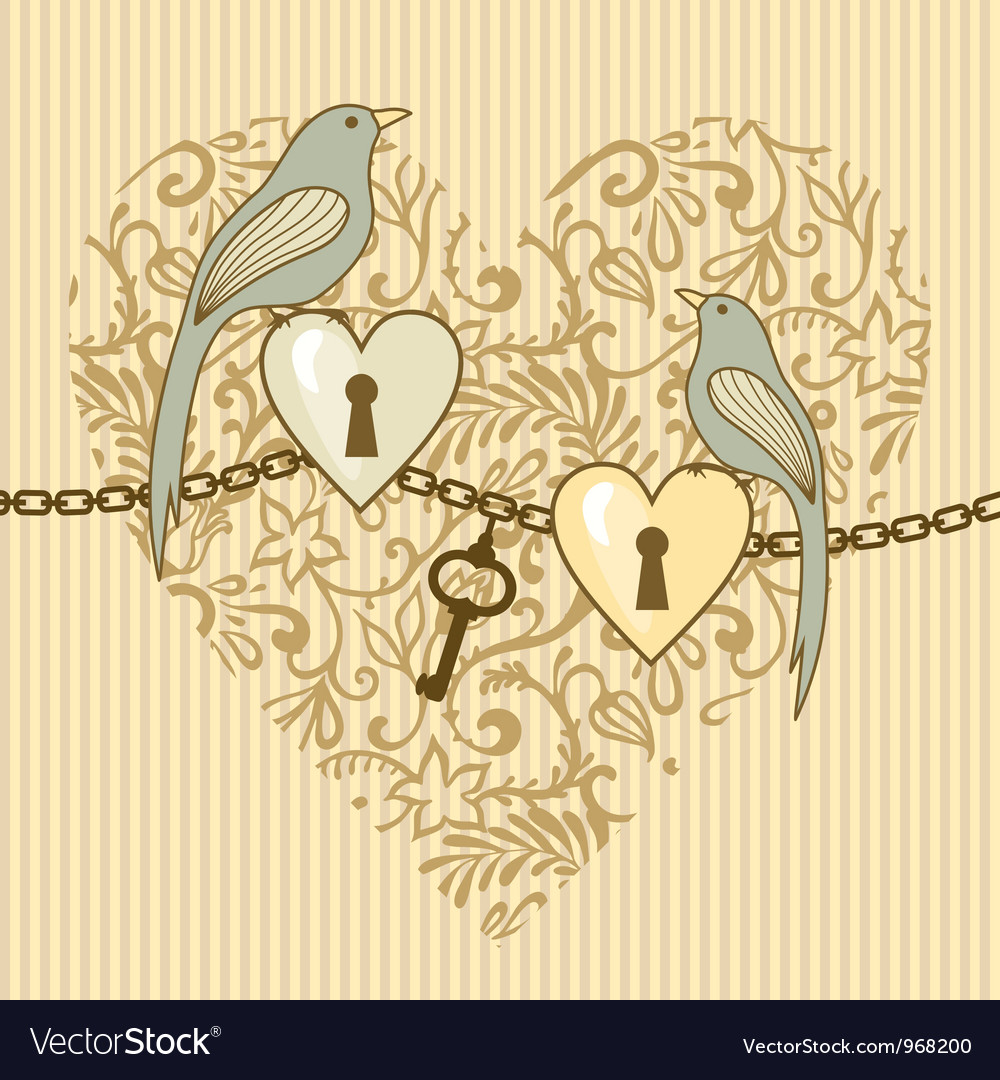 Birds and heart