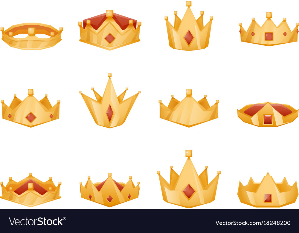 Polygonal Royal Crown Head Power 3d Cartoon Icons Vector Image Buy cheap cartoon skulls online from china today! vectorstock