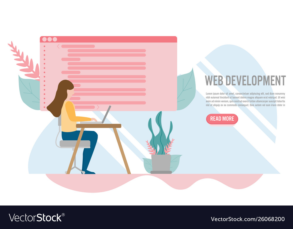 Web development for website and mobile website