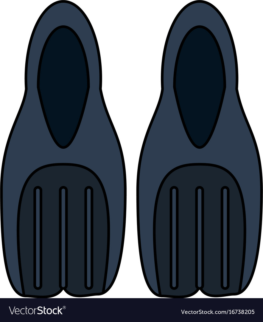 Flippers diving icon image