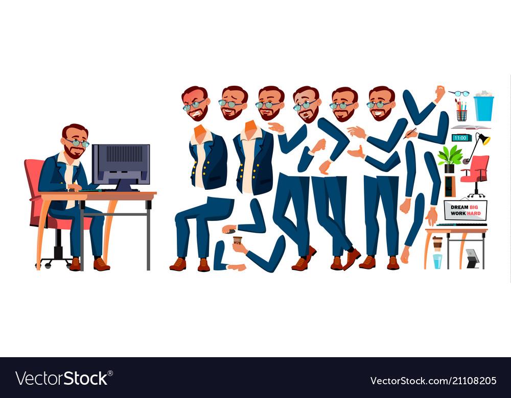 Office worker turkish turk animation
