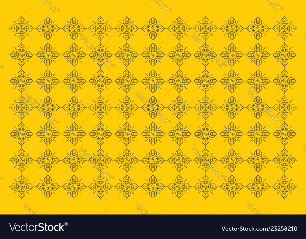Animal lion background pattern