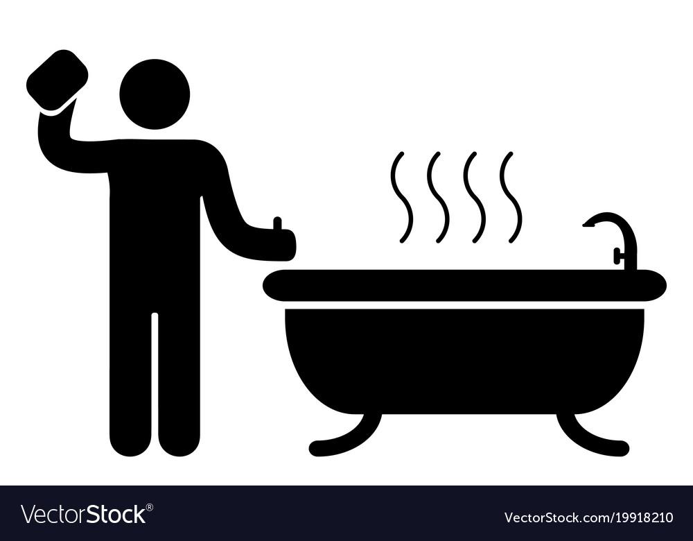 Bathroom badge icon