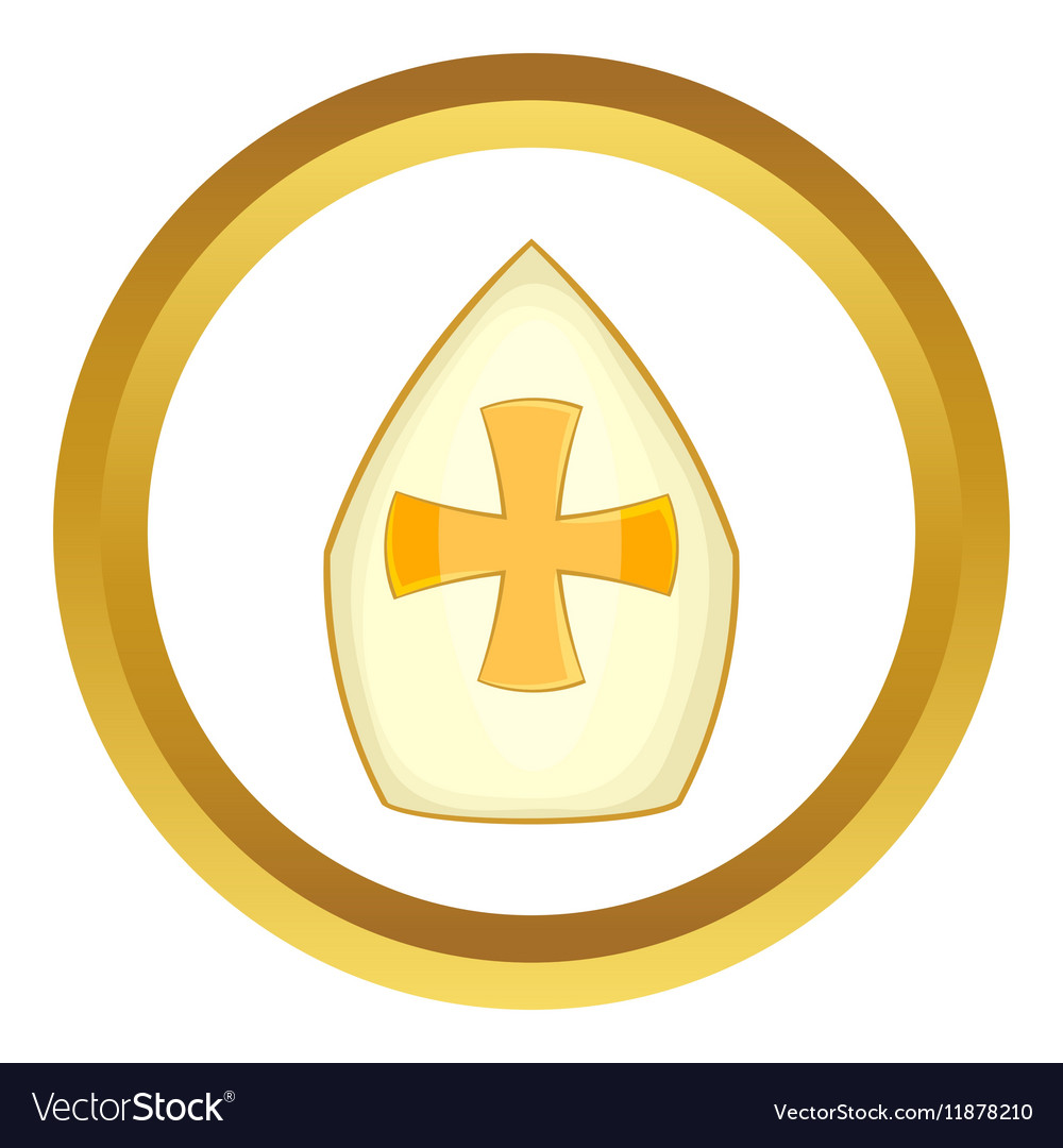 Pope hat icon royalty free vector image vectorstock pope hat icon vector image maxwellsz