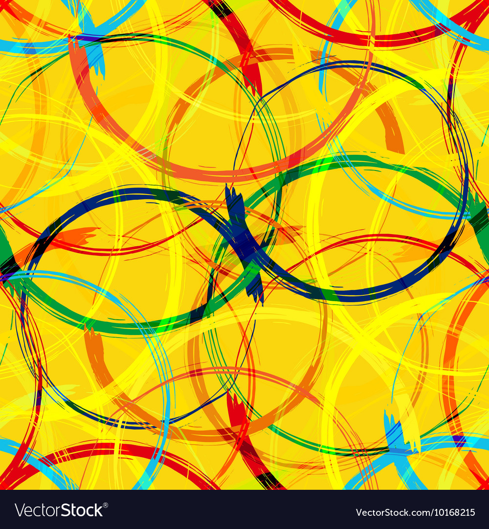 Rio 2016 Brazil Games Abstract Colorful Seamless