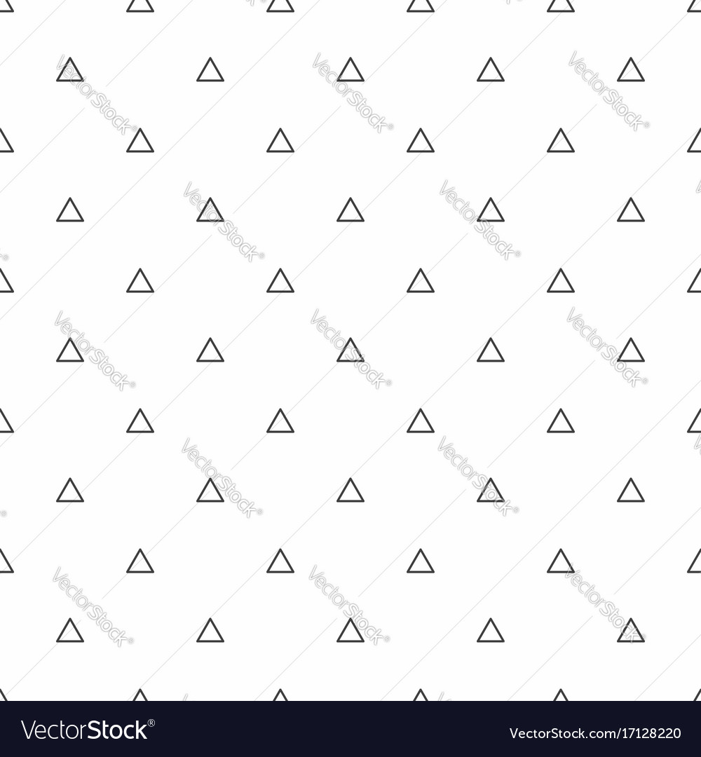 Abstract seamless pattern grey triangles modern