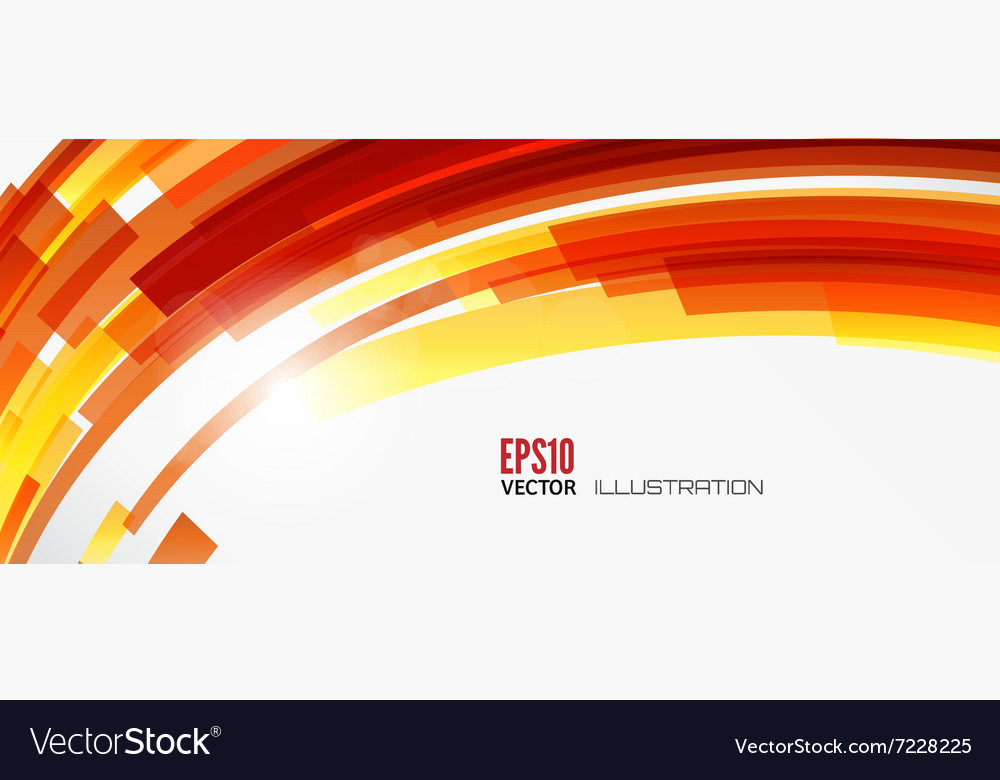 Abstract lines background with colored elements