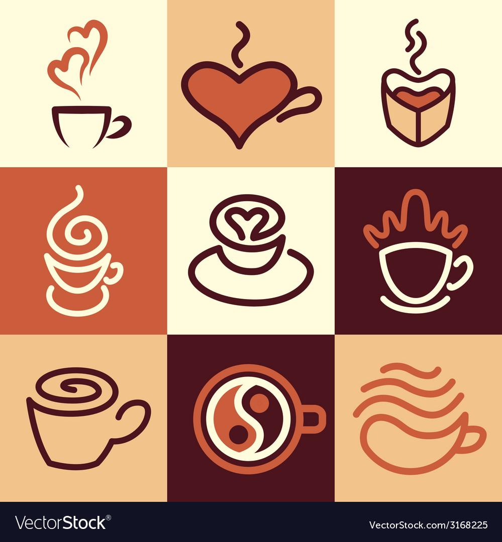 Caffee logo icons