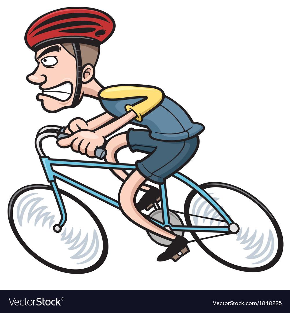 Днем, смешные рисунки велосипедистов