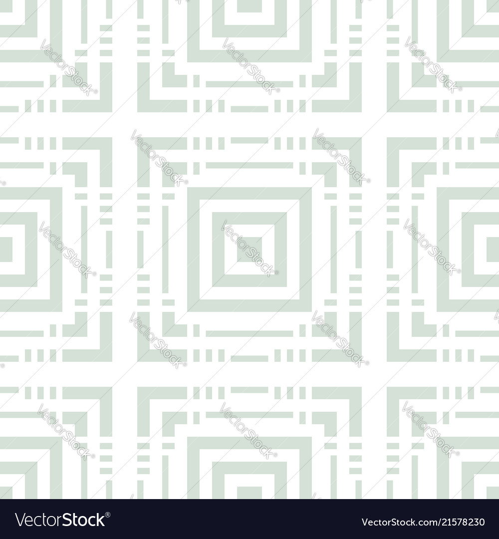 Geometric seamless pattern with squares lines