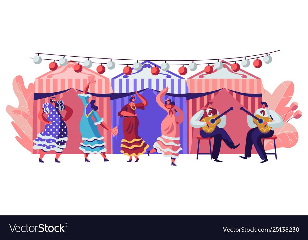 Mexico dancers at cinco de mayo festival mexican