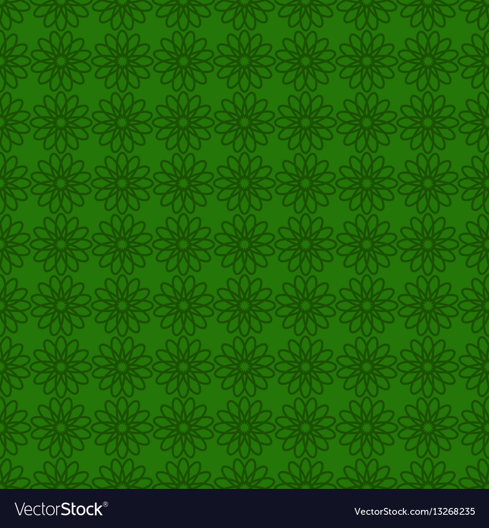 Seamless background with green design st patrick