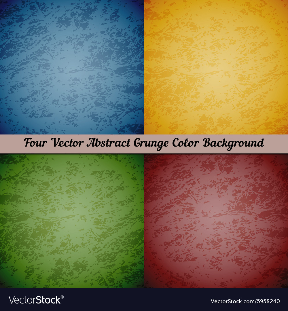 Abstract retro grunge background vector image
