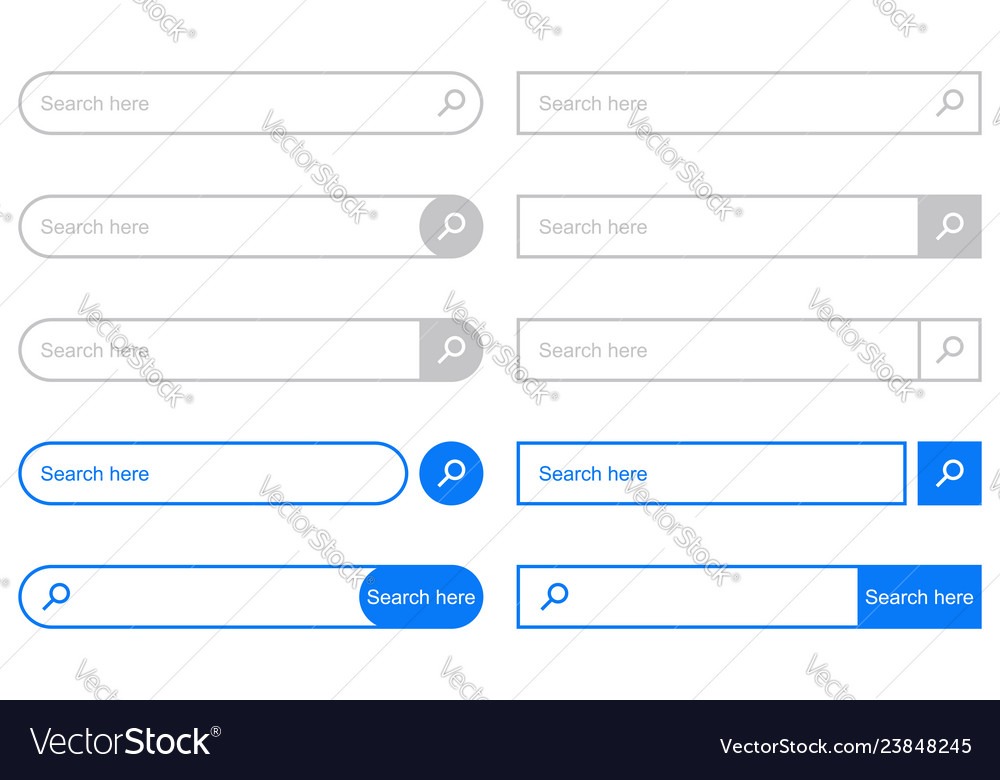 Search bar for ui