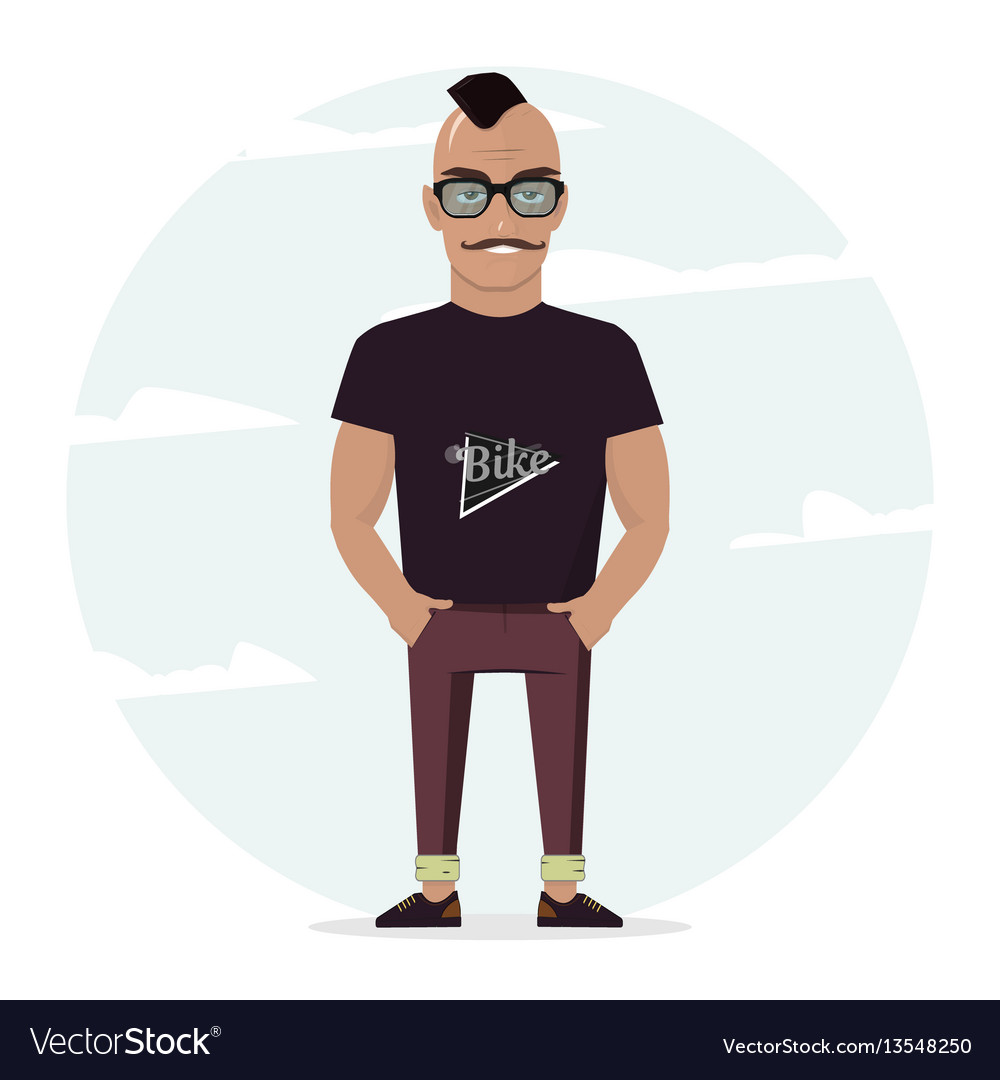 Man character for your scenes for design work and