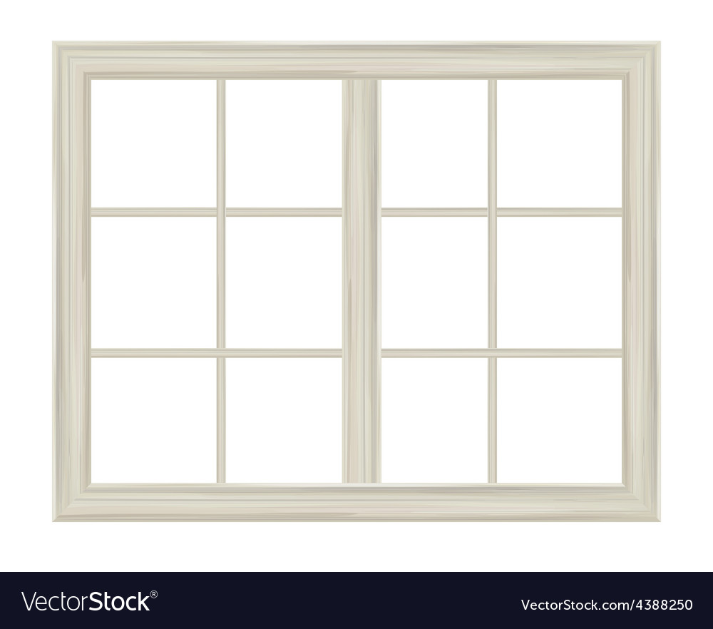 Window frame Royalty Free Vector Image - VectorStock